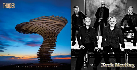 thunder all the right noises nouvel album last one out turn off the lights single et video