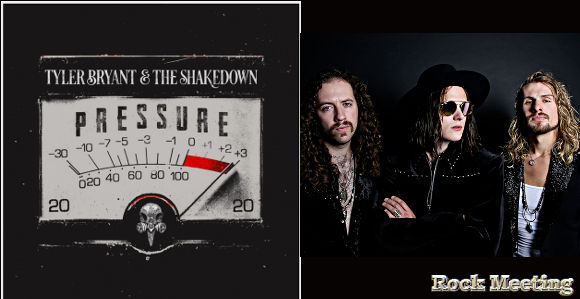 tyler bryant the shakedown pressure nouvel album crazy days video