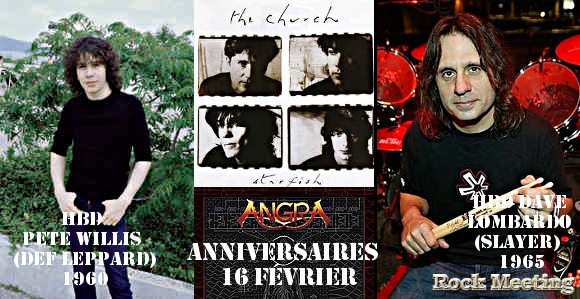 anniv 16 fevrier def leppard dave lombardo children of bodom vintersorg angra the church death god forbid keep of kalessin sacred steel