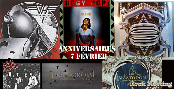 anniv 7 fevrier kiss dark angel van halen status quo bon jovi foghat metal church iggy pop alan parsons project primordial mastodon swallow the sun vreid van canto