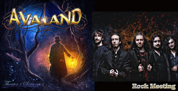 avaland theater of sorcery nouvel album et video