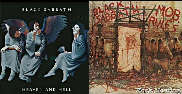 black sabbath heaven and hel mob rules deluxe editions avec des enregistrements inedits