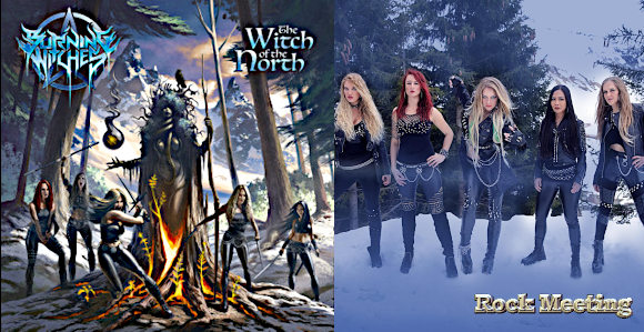 burning witches the witch of the north