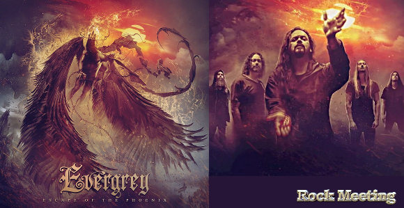 evergrey escape of the phoenix nouvel album eternal nocturnal video