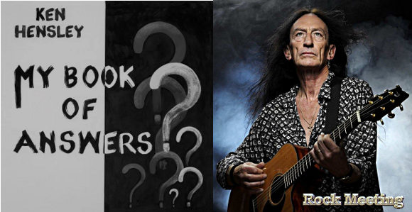 ken hensley my book of answers nouvel album lost my guardian video