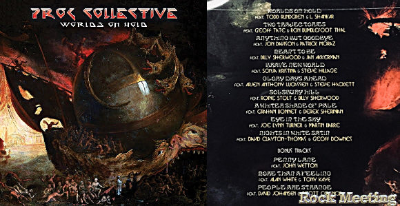 prog collective worlds on hold nouvel album two trajectories video avec geoff tate ron thal