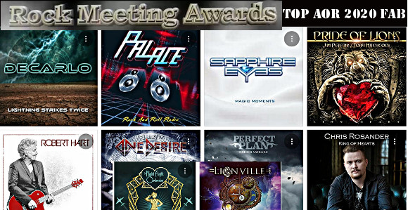 rockmeeting awards albums 2020 le top 10 aor de fab