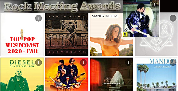 rockmeeting awards albums 2020 le top 10 pop westcoast de fab
