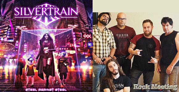 silvertrain steel against steel nouvel album