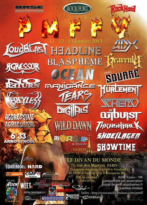 PMFF V PARIS METAL FRANCE FESTIVAL