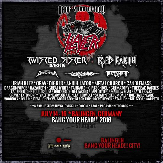 BANG YOUR HEAD 2016 part 1
