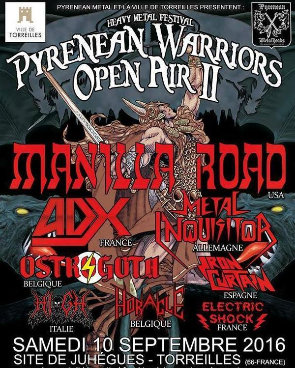 PYRENEAN WARRIORS OPEN AIR II Torreilles 10/09/2016