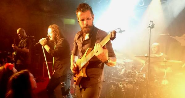 HAKEN – Next To None – The Algorithm - Paris - La Maroquinerie - 29/03/2017