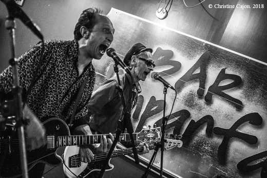 KURT BAKER COMBO / CLANKS  Pau  Bar l'Imparfait  02/06/2018