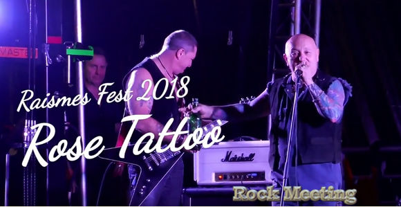 raismesfest 2018 rose tattoo sons of apollo chris slade praying mantis l a guns eclipse raismes 15 16 09 18