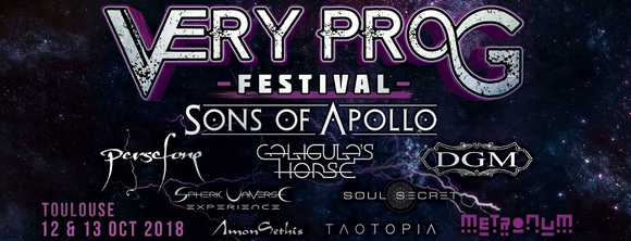 very prog festival toulouse metronum sons of apollo
