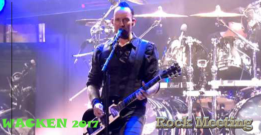 Wacken 03/08/2017 - Volbeat, Accept, Status Quo, Europe, Ross The Boss ...