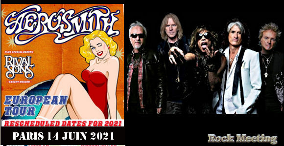 aerosmith a paris accorhotels arena le 14 juin 2021 tournee europeenne