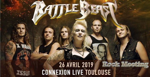 battle beast arion toulouse connexion live 26 04 2019
