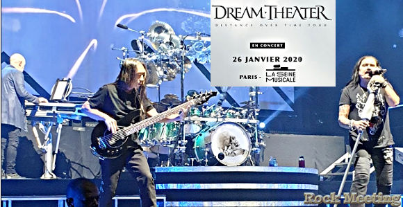 dream theater paris la seine musicale 26 01 2020 le live report