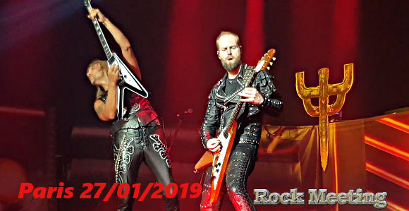 judas priest zenith de paris 27 01 2019