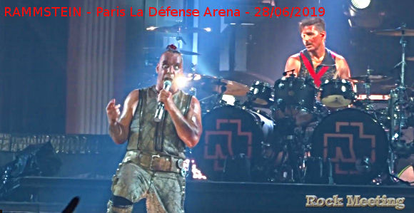 rammstein paris la defense arena 28 06 2019