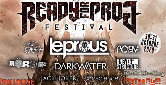 ready for prog festival toulouse le metronum 30 31 octobre 2020 leprous darkwater