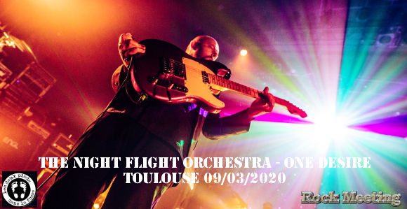 the night flight orchestra one desire toulouse 03 2020