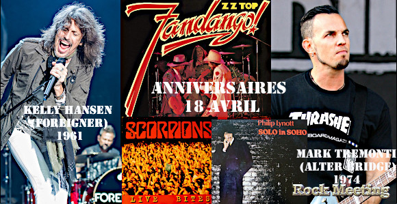 anniv 18 avril zz top eric clapton storm thorgerson bulletboys blind guardian foreigner dream theater tremonti scorpions whitesnake edguy stone sour
