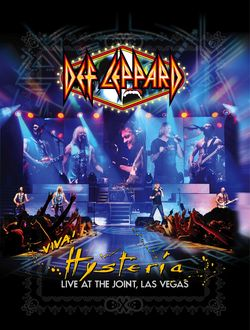 DEF LEPPARD Viva ! Hysteria Live At The Joint, Las Vegas