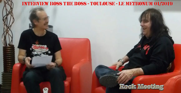 ross the boss interview lors du magic tour de shakin street toulouse 21 01 2019