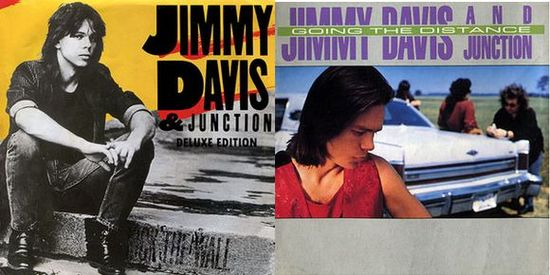 JIMMY DAVIS AND JUNCTION  Kick The Wall/Going The Distance
