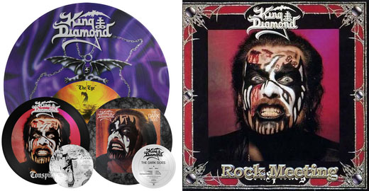 KING DIAMOND   Conspiracy - The Dark Sides - The Eye _ Ré Editions !