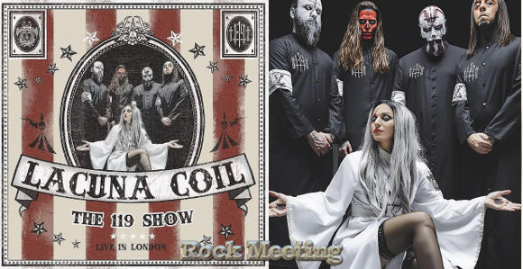 lacuna coil the 119 show live in london