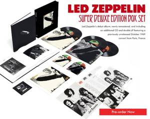 LED ZEPPELIN Celebration Day Live At London's O2 Arena  2007 DV D Blu-Ray