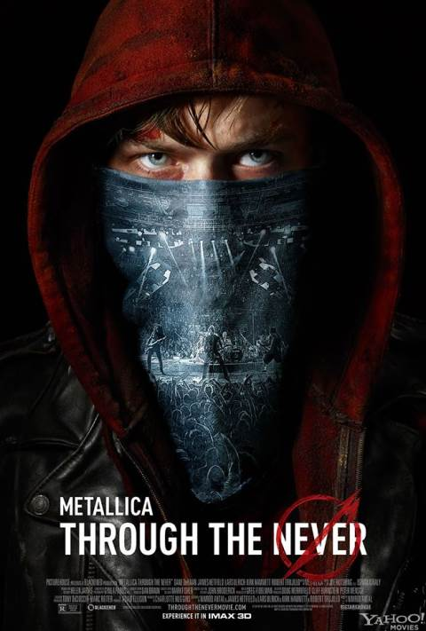 METALLICA,Through The Never nouveau film 3D