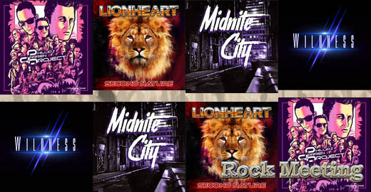 THE DARREN PHILLIPS PROJECT Volume One / LIONHEART Second Nature / MIDNITE CITY / WILDNESS